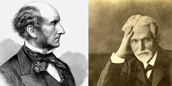 John Stuart Mill e August Bebel
